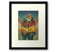 Holy Clown Framed Print