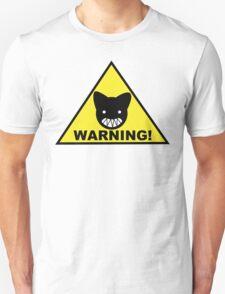 Warning! Biting Cat T-Shirt