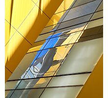 Yellow and Blue Photographic Print