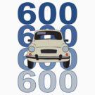 Fiat 600 by MangaKid