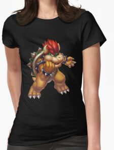 Bowser Womens Fitted T-Shirt