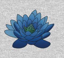 Blue Lotus Flower Kids Clothes