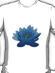Blue Lotus Flower T-Shirt