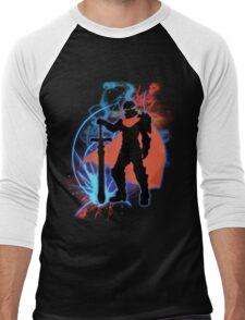 Super Smash Bros. Ike Silhouette Men's Baseball ¾ T-Shirt