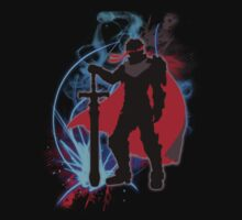 Super Smash Bros. Black Knight Ike Silhouette T-Shirt
