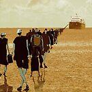 embarkation two by Nikolay Semyonov