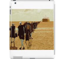 embarkation two iPad Case/Skin