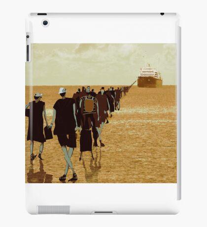 embarkation two iPad Case/Skin
