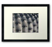 Farm Equipment - McCook, Nebraska Framed Print