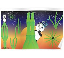 Panda universe Poster