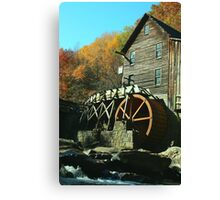 Glade Creek Grist Mill - Babcock State Park Canvas Print