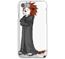 calvin and hobbes heroes iPhone Case/Skin