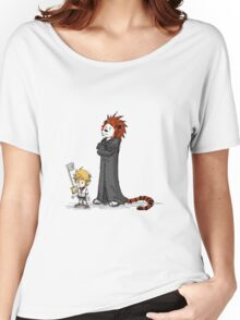 calvin and hobbes heroes Women's Relaxed Fit T-Shirt