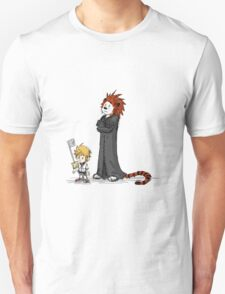 calvin and hobbes heroes T-Shirt