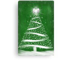 Green Christmas Canvas Print
