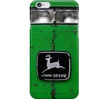 John Deere Front End of Tractor Logo Emblem Photograph iPhone Case/Skin