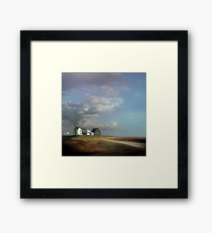 Rural Architectural Antiquity In Queen Anne's County, MD Framed Print