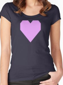 Rich Brilliant Lavender Women's Fitted Scoop T-Shirt