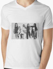 5H Black & White. Mens V-Neck T-Shirt
