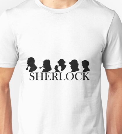 The Generations of Sherlock Holmes Unisex T-Shirt