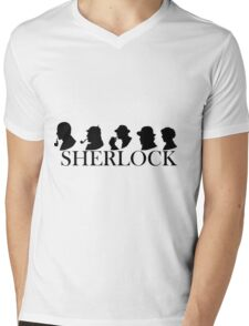 The Generations of Sherlock Holmes Mens V-Neck T-Shirt