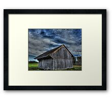 Zuger Barn Framed Print