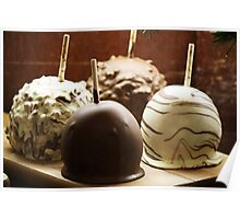 Chocolate Apples Poster