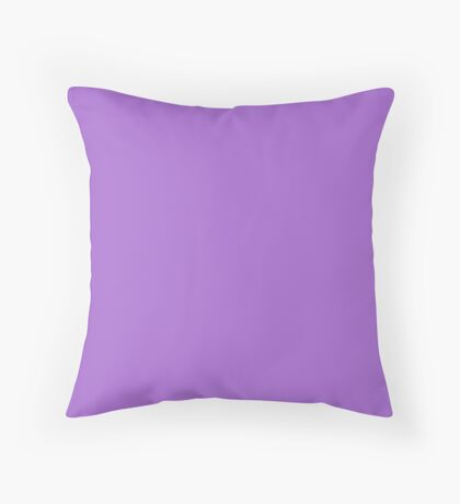 Rich Lavender Throw Pillow