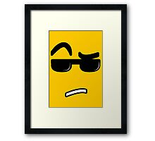 Are You Serious? Framed Print