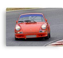 Porsche 911 - Eastern Creek Tasman Revival 2010 Canvas Print