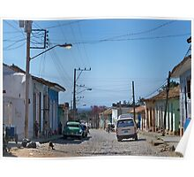 Main Street, Trinidad, Cuba Poster
