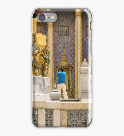 Thailand. Grand Palace, Smile... iPhone Case/Skin