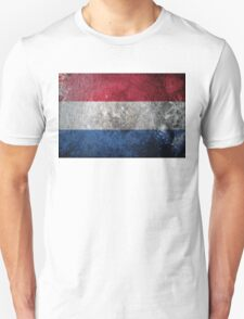 Netherlands Grunge Unisex T-Shirt