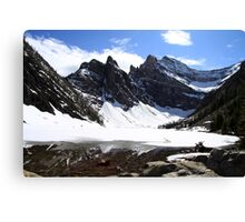 Lake Agnes Canvas Print