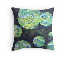 Green Cosmos Throw Pillow 2  Throw Pillow