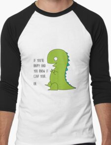 OH T-Rex - Arms problem here Men's Baseball ¾ T-Shirt