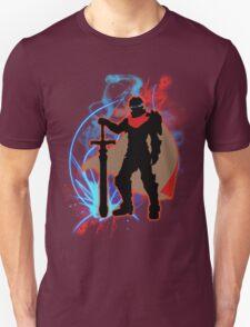 Super Smash Bros. Red Ike Silhouette T-Shirt