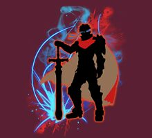 Super Smash Bros. Red Ike Silhouette Unisex T-Shirt