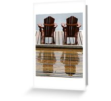 Muskoka Chairs Greeting Card