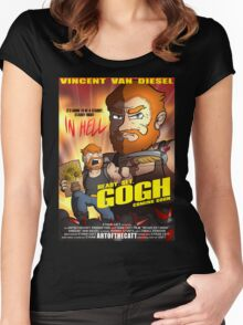 Ready. Set. GOGH. Women's Fitted Scoop T-Shirt