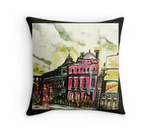 Picadilly circus Throw Pillow