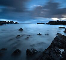 Dusk - Clachtoll Bay Scotland by toonartist