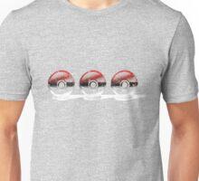 Pokemon - 3 Pokeballs (Colour) Unisex T-Shirt