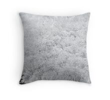 Winter trees in Muskoka Throw Pillow