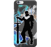 Super Smash Bros. White Ike Silhouette iPhone Case/Skin