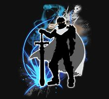 Super Smash Bros. White Ike Silhouette Unisex T-Shirt