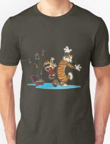 calvin and hobbes box songs T-Shirt