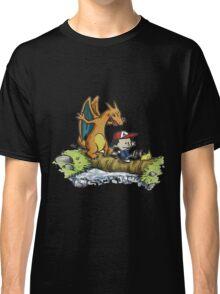 calvin and hobbes dragon Classic T-Shirt