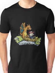 calvin and hobbes dragon Unisex T-Shirt