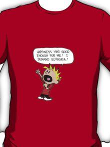 calvin and hobbes scream T-Shirt